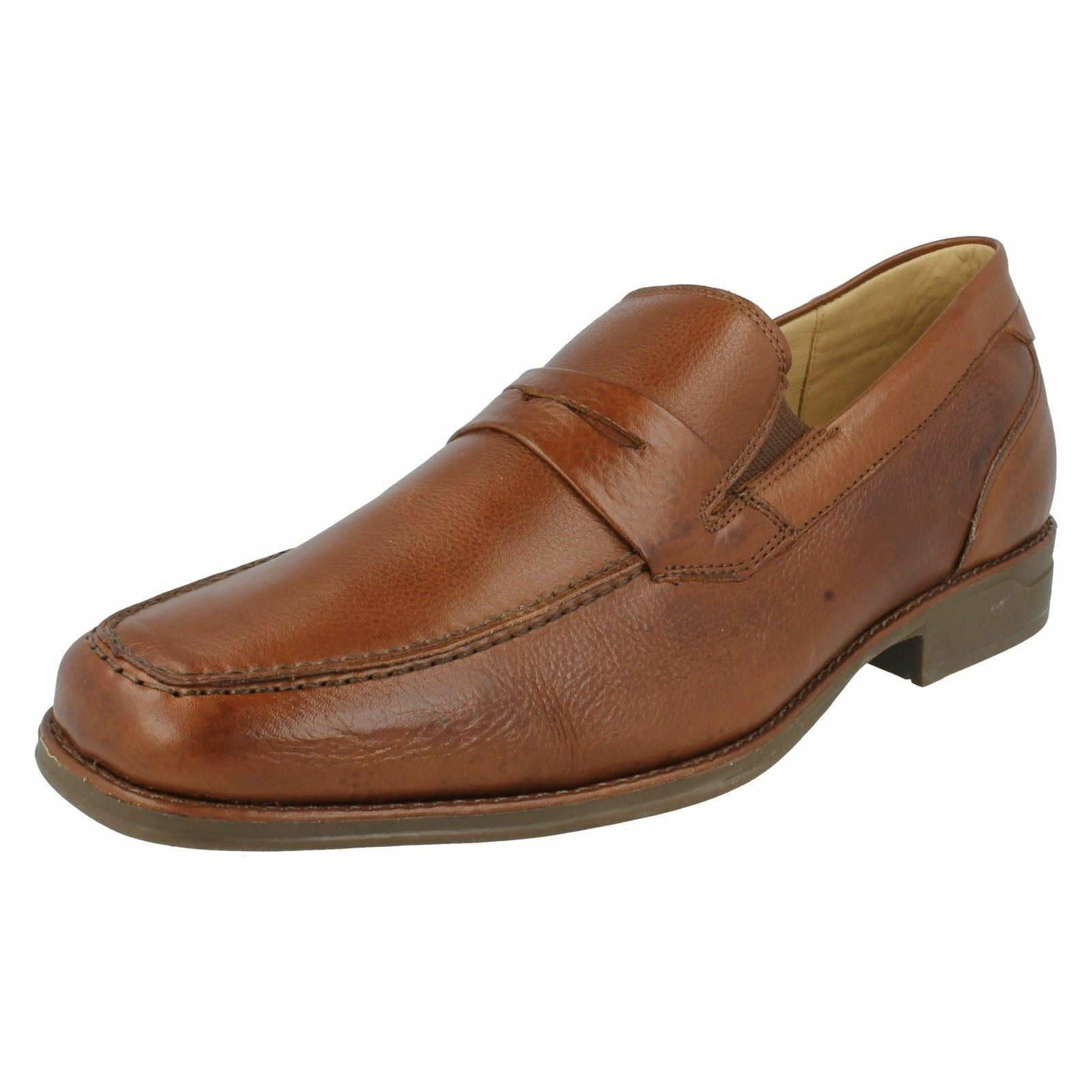 Anatomic & Co Ease Range 'Barbosa' Gents Tan Toast Smart Leather Loafers    | Schön und charmant