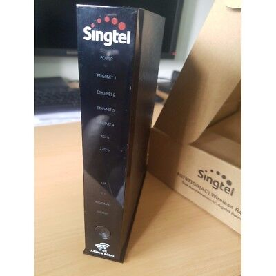 LIKE NEW Singtel Aztech 4 port Wireless Wifi AC Gigabit Router DSL7003GRV  MioTV | eBay