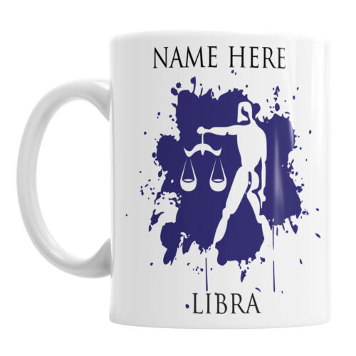 Personalised Zodiac Mug Star Sign Astrology Horoscope Birthday Gift