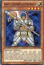 Yu-Gi-Oh!  Garoth, Lichtverpflichteter Krieger  SDLI-DE009  1.Auflage
