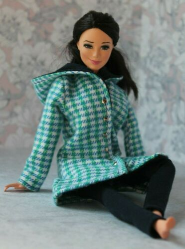 №211 Clothes for Barbie Doll Coat and Leggings for Dolls.
