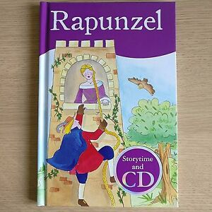 Details about NEW - RAPUNZEL STORY BOOK & CD - Young Children's Learning To  Read Book & CD