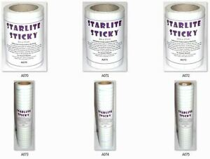 Starlite-Sticky-Self-Adhesive-Embroidery-Backing-Stabiliser-Choice-of-Sizes