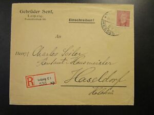 Germany-1920a-Registered-Commercial-Cover-Leipzig-Messestad-CDS-Z6537