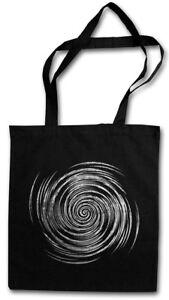 HYPNO SPIRAL III STOFFTASCHE Labyrinth Mystic Hypnose Esoterik Hypno Spirale