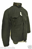 Black Vintage M65 Type Military Army Combat Field Quilted Liner Jacket Coat SB89