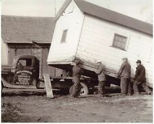 Circa 1930s Photo Math A.Dornacker Truck West Bend WI Shed Moving 5 x 7 ""