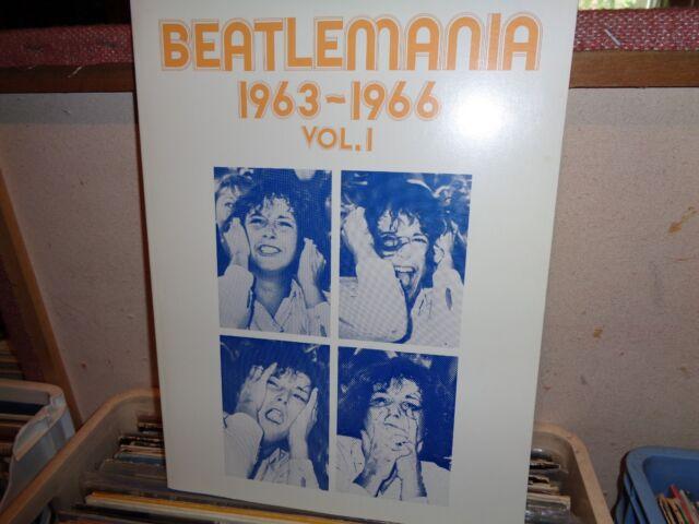 THE BEATLES MANIA 1963-1966 VOL.1 SONGBOOK RARE