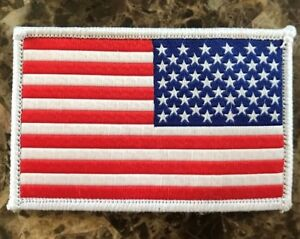 "BuckUp Tactical Morale Patch Hook Medic 2/"" Sized Red White"