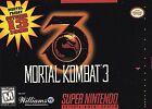 Mortal Kombat 3 (Super Nintendo Entertainment System, 1995)