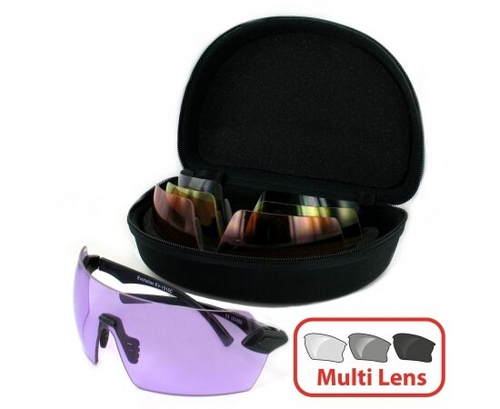 Evolution Lens MATRIX Archery Air Rifle Clay Pigeon Shooting 4 Lens Evolution Protect Glasses b72498