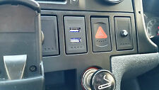 VW T4 Transporter Golf Passat Genuine OEM Style USB + Audio Charger Dash Blank