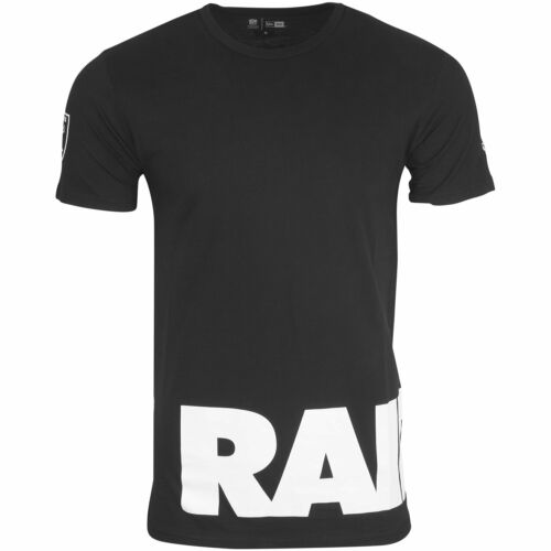 WRAP Oakland Raiders schwarz New Era NFL Shirt