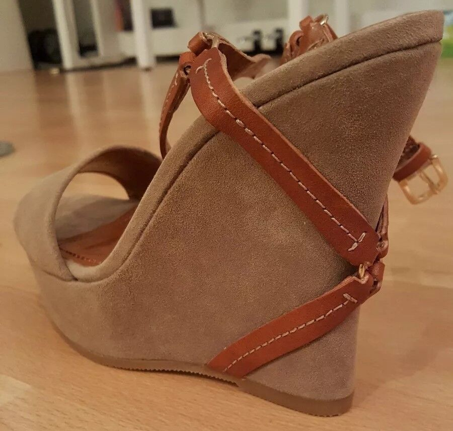 Boss Orange Schuhe Damenschuhe Wedges Pumps Keilabsatz Gr. 36 Plateau Sandalen