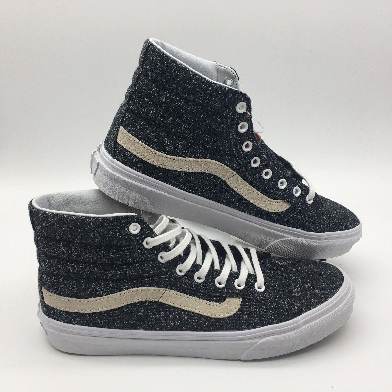 Vans Men's shoes  Sk8-Hi Slim  (J&s) Black True White