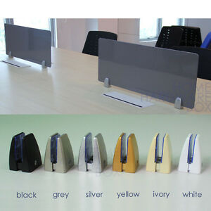 2 Pcs Wall Mount Arcrylic Sign Holder Desk Screen