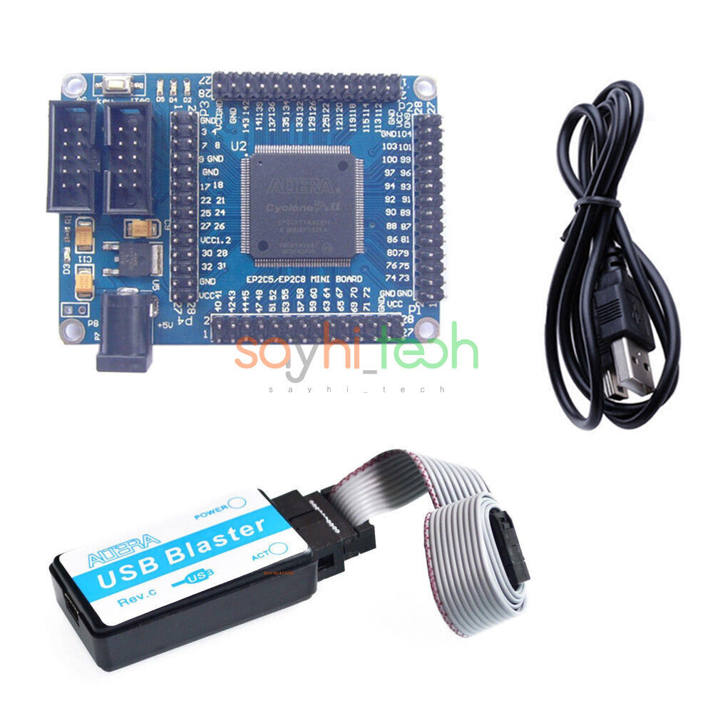 ALTERA FPGA Cyclone II EP2C5T144 Minimum System Board Development Board