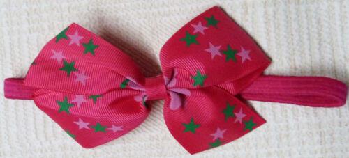 Soft Elastic Headband /& Hair Clips Baby Girls  Ruffle Flower Hairband