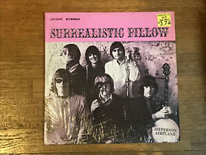 Jefferson-Airplane-LP-in-Shrink-Surrealistic-Pillow-RCA-LSP-3766-Stereo