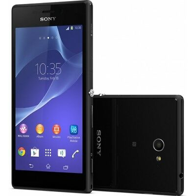 Sony Xperia M2 Dual-SIM D2302 black Android Handy Smartphone ohne Vertrag WOW!