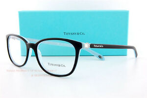 6a53eb22a8 Brand New Tiffany   Co. Eyeglass Frames 2109HB 8193 Black SZ 53 ...