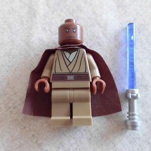 Lego-SW-Mace-Windu-Minifigure-SW417-From-9526-Palpatine-039-s-Arrest