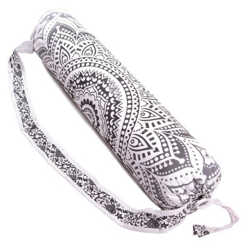 Yoga Mat Bag Indian Mandala Gym Sports Bag Tote Carrier Bags With Shoulder Strap