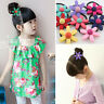 4 pcs Girl's Accessories Hair Headband Baby Kids Rope Scrunchie Ponytail holders