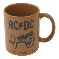 AC/DC FOR THOSE ABOUT TO ROCK BOXED MUG CERAMIC COFFEE TEA CUP MUSIC CANNON GIFT