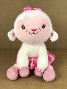 Disney-Jr-Doc-McStuffins-Lambie-Lamb-7-034-T-Sitting-Plush-Stuffed-Animal