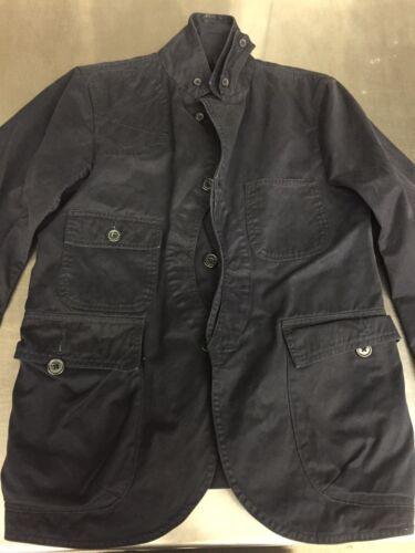 Woolrich Woolen Mills Jacket Blazer Small Mens Nav