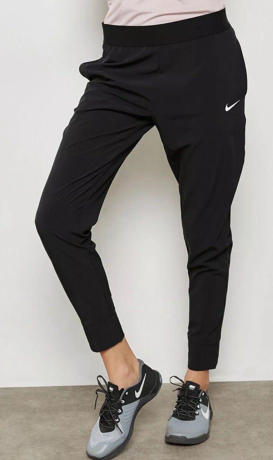 Nike Bliss  victoria Slim Fit mediados de subida de Gimnasia 933826-010 Negro Talla XL Nuevo  Sin impuestos