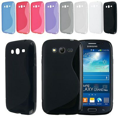 Soft TPU Gel Rubber Back Case Cover Skin For Samsung Galaxy Grand Neo Lite i9060