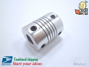 Aluminum-Flexible-Shaft-Coupler-5-6-35-8mm-To-5-6-35-8-10mm-CNC-Reprap-3Dprinter