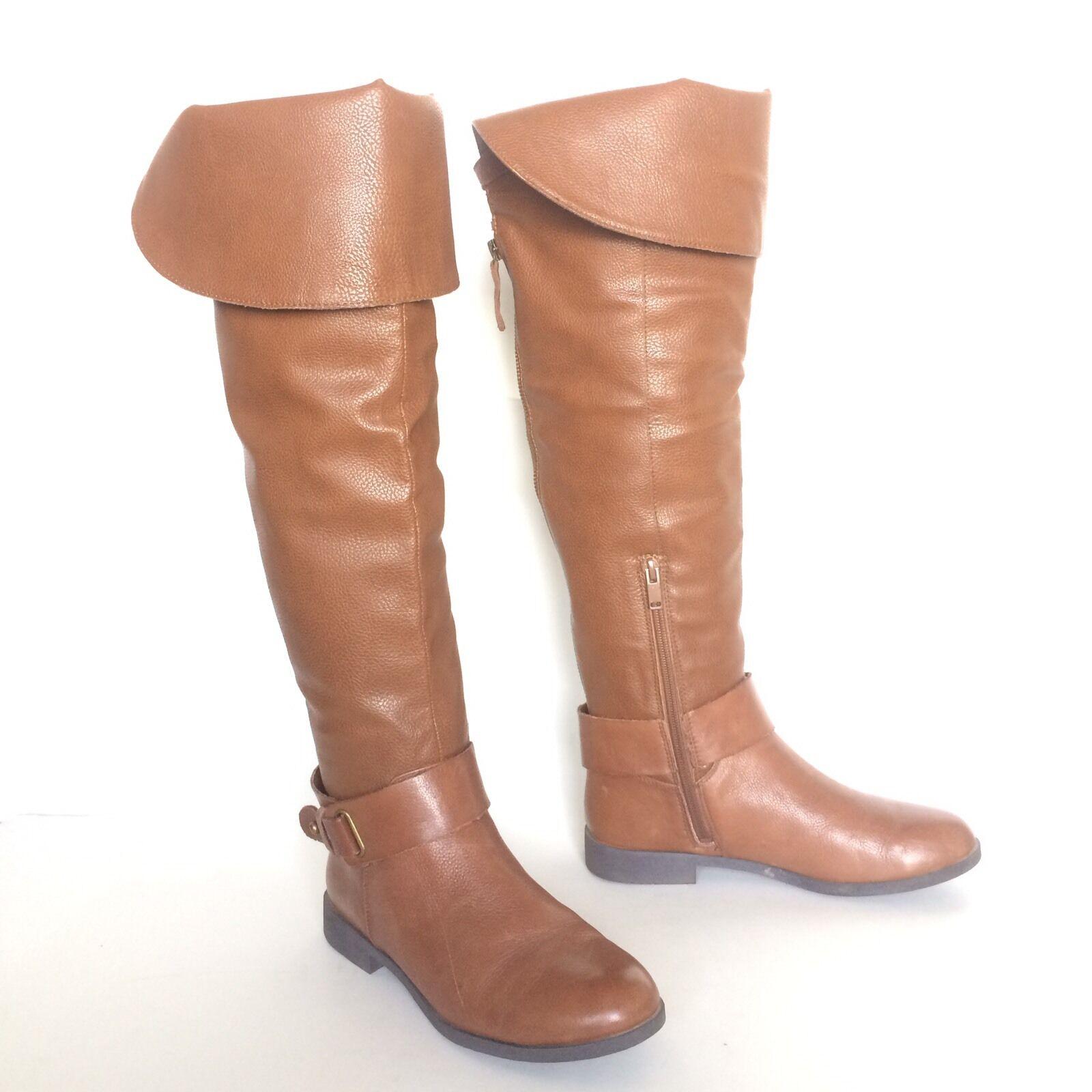 ALDO Damenschuhe Braun Knee High Stiefel Größe 6.5 EUR 37 UK 4 Valkyrie 130