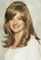 Deluxe Mixed Blonde Light Brown Layered Women's Fairy Wig With Butterfly Clips