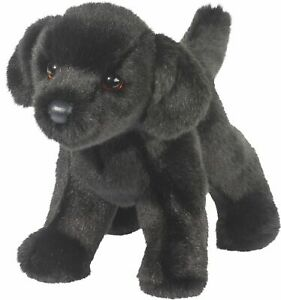 Douglas-Bear-BLACK-LAB-Dog-Plush-Toy-Stuffed-Animal-NEW
