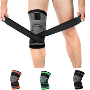 Compression-Knee-Brace-Support-Protector-Running-Sport-Gym-Supportive-Pad-Unisex