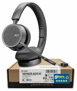 Plantronics Voyager 4220-A Wireless Headset (211996-01, 211996-101) Brand New