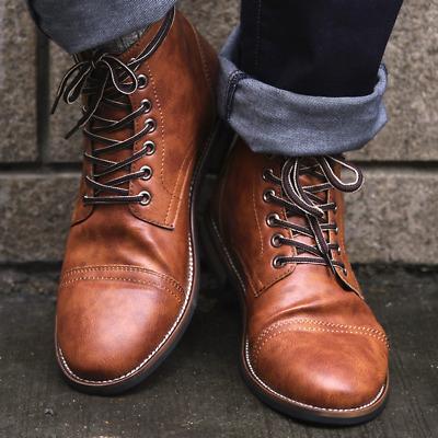 Zapatos Botas Botines de Hombre Para Vestir Casual Social Elegantes Trabajar NEW