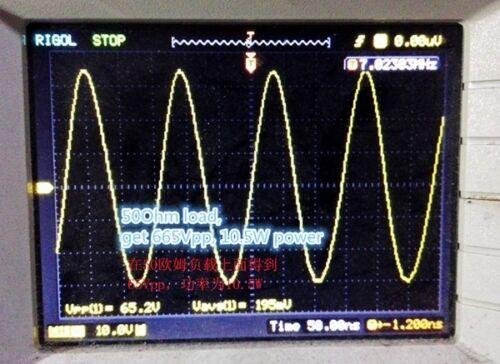Assembled QRP 10W Radio HF SW CW telegraph Transmitter Kits HF power amplifer