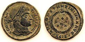 Imperio-Romano-Constantino-I-Follis-320-321-d-C-Siscia-Croacia-Cobre-2-6-g