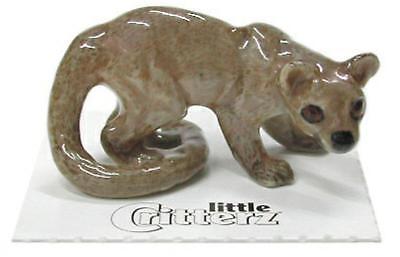 """Little Critterz Miniature Porcelain Animal Figure Coatimundi /""""Curious/"""" LC714"""