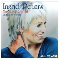Musik Ist Gefühl-Das Beste Aus 40 Jahren von Ingrid Peters (2016), Neu OVP, 2 CD