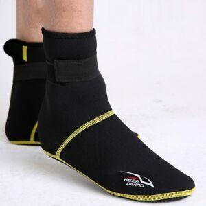 3mm-Neoprene-Snorkeling-Diving-Shoes-Socks-Beach-Boots-Anti-Scratches-Foot-wear