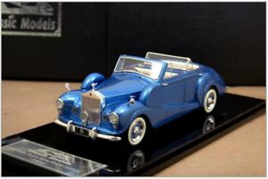 1 43 Rolls-Royce Freestone & Webb Silver Wraith Cabriolet 1954 1954 1954 (Pearl bluee) 4dc