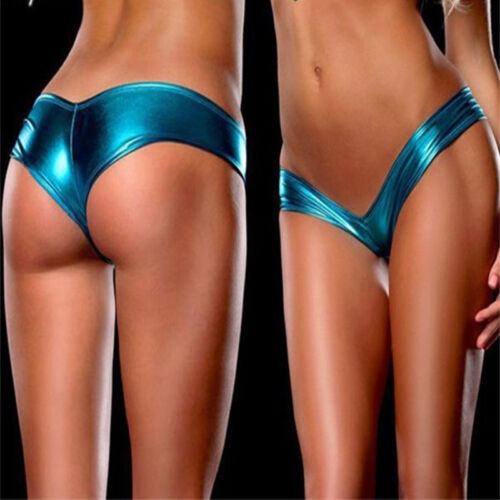 New Style Lady Sexuality Thong G-string Charm Wet Cortex Lingerie Underwear