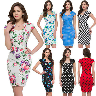 Vintage 1950s DRESS Rockabilly Pinup Retro Housewife Prom Party evening dresses