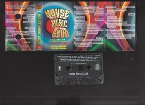 House-Music-Club-compilation-various-1996-cassette-tape-CD-R-backup