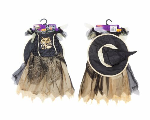 Girl/'s Witch Outfit Cute Witches Dress Up Trick or Treat Costume Halloween